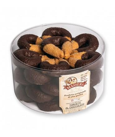 Torcetti al cioccolato - 500 g