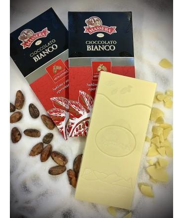 Tavoletta Cioccolato Bianco 34%