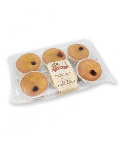 Muffins ai frutti di bosco - 320g